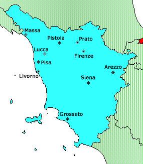 Siena Cartina Toscana.Gli Avvenimenti Della Toscana Siena Sagre
