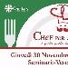 """30/11 - Seminario Vescovile di Nola - """"Chef per Amore""""….il gusto giusto della solidarietà"""
