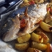 -Orata macchiata al forno con spicchi di patate in camicia - - - Fotografia inserita il giorno 20-06-2018 alle ore 16:30:10 da pasqualefranzese
