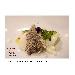 -carpaccio baccalà, lattuga di mare e perle di lime - - - Fotografia inserita il giorno 22-04-2018 alle ore 11:32:27 da gastronautafelice