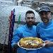 19/03 - Inaugurazione My Pizza a Nocera Inferiore (SA) - I pizzaioli Stefano De Martino e Ciro Sasso con la pizza con crema di zucca e salsiccia
