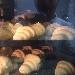 Cornetti nel forno