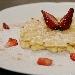 Ricetta inserita su spaghettitaliani.com da Santino Strizzi: Le pizzelle di Santino con ricotta e zafferano alle fragole