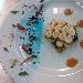 La Ricetta del giorno 25/02/2018 inserita su spaghettitaliani.com da Costantino Silvestre: Mille foglie di gamberi con crema al burro di ricci di mare, con gocce di bisque di aragosta