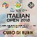 Open Italia Cubo di Rubik - - - Fotografia inserita il giorno 20-07-2018 alle ore 11:07:20 da faraone