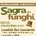 9 e 10 novembre - Località San Leonardo - San Giuseppe Vesuviano (NA) - Sagra dei Funghi