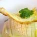 Seppiolina arrosto profumata con zeste di limone, sfusato amalfitano candito su crema di patate, cipollotto nocerino e cialda di pane croccante - - - Fotografia inserita il giorno 27-04-2017 alle ore 12:06:16 da giovannipastore