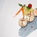 Ricetta inserita su spaghettitaliani.com da Andrea Finocchiaro: Perle di nasello al latte con verdurine campagnole saltate all
