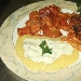 -pennette melanzane e capperi, polenta morbida ai formaggi, bocconcini di filetto di maiale in salsa piccante - - - Fotografia inserita il giorno 02-11-2013 alle ore 00:01:39 da gaetanoborda