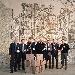 """il Mosaico """"Il trionfo di Dioniso"""" di Sarsina nelle etichette Galassi - - - Fotografia inserita il giorno 10-12-2017 alle ore 21:59:35 da luigi"""