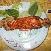 Quinta Tappa Pizzarelle a Go Go - Quarta pizzarella: Frusta (parmigiana di melanzane, mortadella, provola e grattugiata di auricchio) preparata da Antonio Iacone