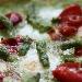 Ricetta inserita su spaghettitaliani.com da Michele Leo: Pizza con asparagi, pomodorini e mozzarella di bufala