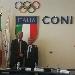 -Il Presidente del CONI Malag� con il Patron di Eccellenze Campane Paolo Scudieri