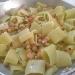 Ricetta inserita su spaghettitaliani.com da Pasquale Franzese: Paccheri con ceci, pomodori e bottarga