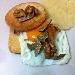 -Uovo Tartufato con cialda di Pecorino Romano