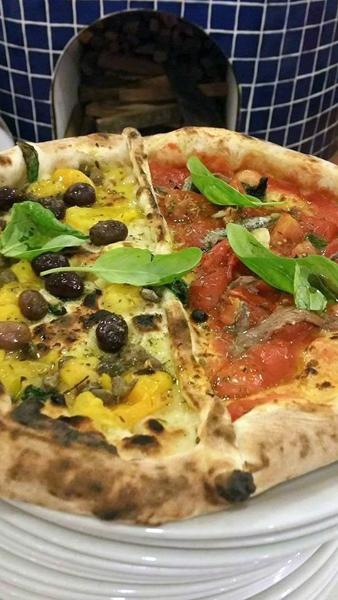 Pizza marinara dei borboni