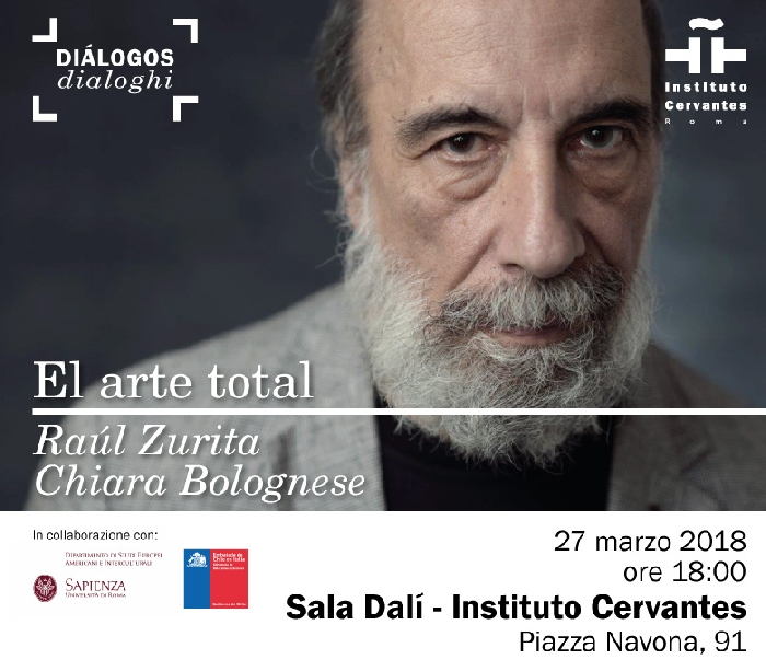 Raul Zurita all'Instituto Cervantes di Roma  ( - )