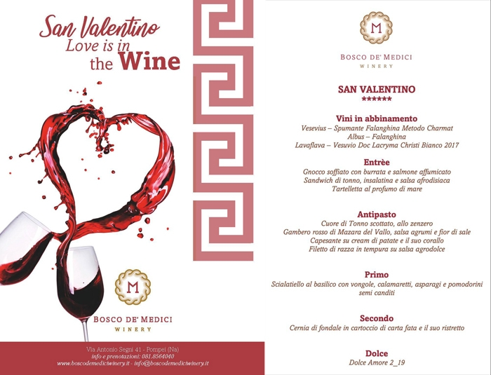San Valentino - Love is in the Wine ( - )