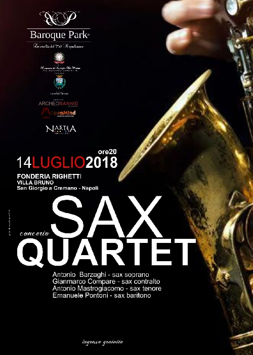Sax Quartet in concerto ( - )
