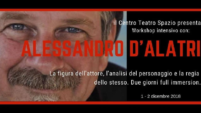 Workshop con Alessandro D